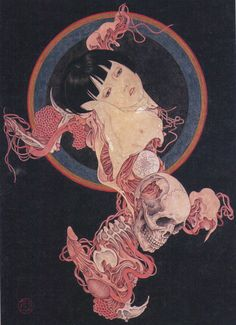 Takato Yamamoto - Abyss Of Worries, scan from coffin of a chimera