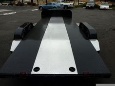 Bear Trailers offers custom car haulers & trailers in California. We can customize a hauler to fit your needs. Tilt Trailer, Work Trailer, Trailer Plans, Trailer Build, Toy Hauler Trailers, Toy Hauler Camper, Flatbed Trailer, Pressure Washing Business, Tire Rack