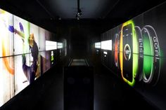 London's Interactive NikeFuel Station Breaks Digital Design Boundaries: The highly digitized retail storefront mixes digital services and physical consumer experiences that inspire and inform today's digitally-enabled athlete.