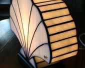 Lampe Art Déco Coquillage Tiffany