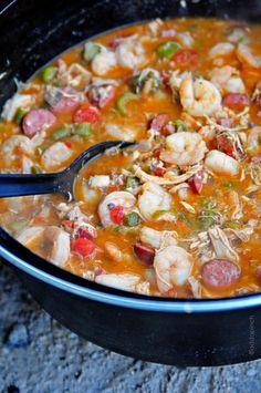 Gumbo Recipe from addapinch.com