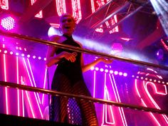 Jessie J was fantastic! In ice-cold weather, in this outfit - at Oxford Street / Selfridges Christmas Lights