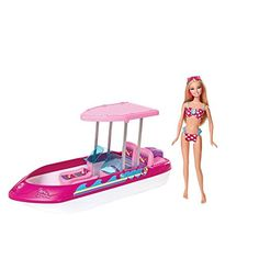 Your daughter must have this! The Barbie Glam Boat is the perfect christmas present for your little one this year. 1 Barbie included!