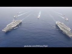Beijing Alarmed   MASSIVE US Navy Aircraft Carrier Operations in Philipp...