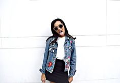 DIY Denim Patch Jacket: To Style, With Love