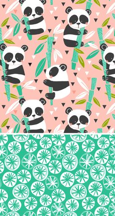Illustration of Rug prints Motifs Textiles, Textile Patterns, Kids Patterns, Pretty Patterns, Surface Pattern Design, Pattern Art, Pattern Illustration, Panda Illustration, Garden Illustration
