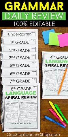 5th Grade Grammar, 4th Grade Ela, 2nd Grade Teacher, 4th Grade Classroom, 4th Grade Reading, Kindergarten Teachers, 5th Grade Centers, Second Grade, Kindergarten Colors