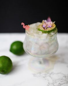 Rum and St-Germain Tiki Cocktail Recipe / Liquorary for Oh So Beautiful Paper