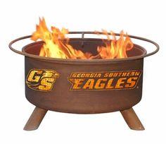 Georgia Southern University Eagles Metal Fire Pit