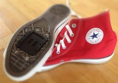 Any shoe can be a bike shoe with a nifty add-on that gives you a better grip on your bike pedals.