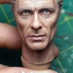 """1/6 scale """"Man In Black"""" head sculpt from HBO series  WESTWORLD by Jacob Rahmier"""