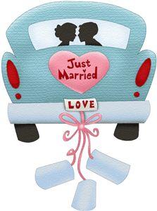 Just Married Car Hochzeit Pinterest F 228 Rben Hochzeit
