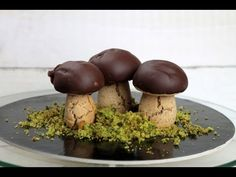 Ciasteczka dla dzieci ♡♡ czekoladowo-orzechowe grzybki