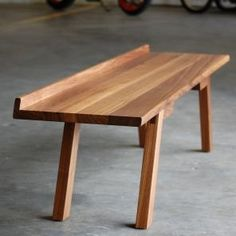 Ample: Modern Furniture and Lighting / Bench Home Decor Furniture, Modern Furniture, Furniture Design, Modern Bench, Dining Table Chairs, Tables, Home Decor Accessories, Interior Design, Sofa Bench