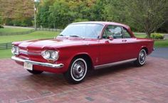 New life goal: own a Corvair 1963 Chevrolet Corvair Monza Coupe
