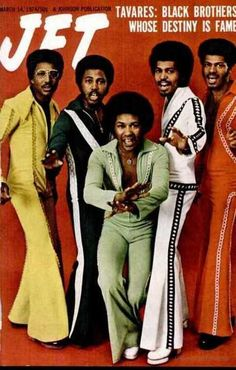 Tavares: Black Brothers Whose Destiny Is Fame - Jet magazine, March 1974.