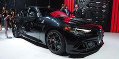 2017 Alfa Romeo Giulia Quadrifoglio Black