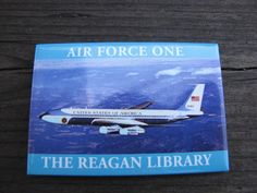 Refrigerator Magnet Air Force One The Reagan Library - Ronal Reagan