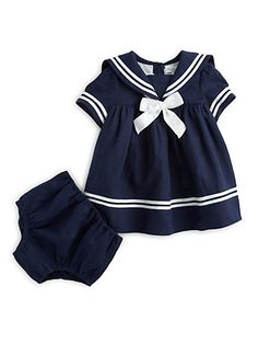 Ralph Lauren - Infant's Sailor Dress & Bloomers Set - SAILOR DRESS YESSSS