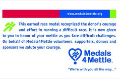 Medals 4 Mettle