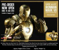 http://comics-x-aminer.com/2013/08/03/super-alloy-16-scale-iron-man-mark-vii-gold-edition/