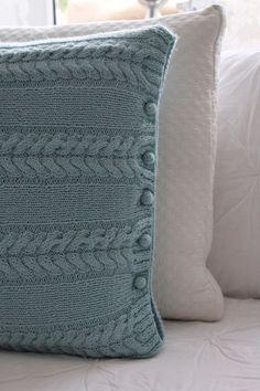 dawanda strickanleitung kissen stricken youtube crochet. Black Bedroom Furniture Sets. Home Design Ideas