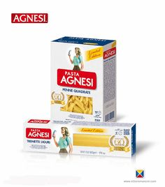 Agnesi 60th Anniversary on Packaging of the World - Creative Package Design Gallery