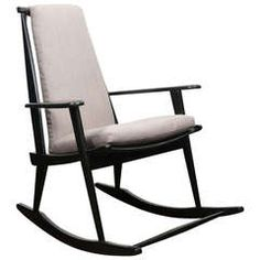Vintage Danish Rocking Chair. Nice lines