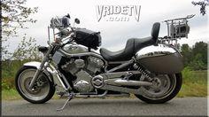 VRIDETV's 2003 Harley Davidson 100th anniversary VRSCA Vrod camera bike. More images, videos and all info at http://www.vridetv.com/projectvrod.html