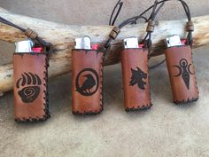 Leather Tobacco pouches and Crafts by TobaccoPouch Leather Tobacco Pouch, Lighter Case, Leather Art, Leather Accessories, Etsy Seller, Crafts, Manualidades, Craft, Crafting