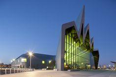 Riverside Museum – Glasgow. By Zaha Hadid.