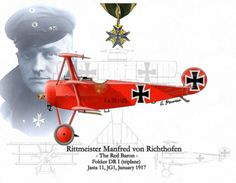 The Red Baron and his infamous Fokker DR 1