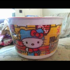 Hello kitty noodles!