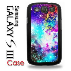 Samsung Galaxy S3 Rubber Silicone Case - Galaxy Colorful - Galaxy SIII Cover Case on Etsy, $13.95