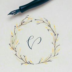 V #calligrafikas