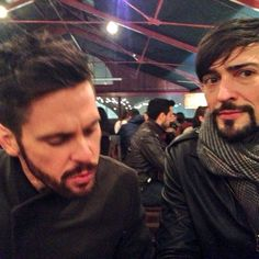Tom Riley and Blake Ritson