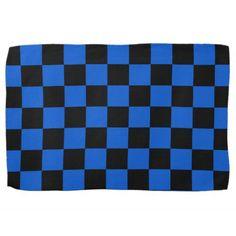Black and blue - Italian football club - Inter Towel