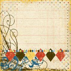Report Card 12x12 Cardstock | Simple Stories
