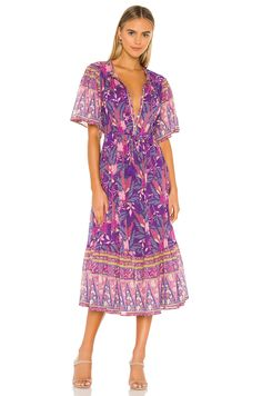Shop for Spell & The Gypsy Collective X REVOLVE Buttercup Dress in Wisteria at REVOLVE. Gypsy, Hippie Lifestyle, Moda Boho, Hippie Outfits, Revolve Clothing, Ladies Dress Design, Dress Me Up, Boho Dress, Boho Fashion