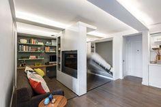 petit appartement avec lit escamotable