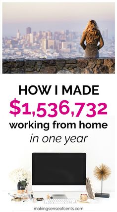 Here's how I made $1,536,732 blogging in 2017! #howtomakemoneyblogging #howtomakemoneybloggingforbeginners #howtomakemoney #waystomakeextramoney