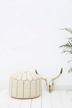 Moroccan Natural Bean Bag - Urban Outfitters