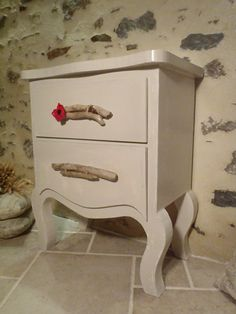 """Commode en carton """"Au coquelicot"""" http://www.collection-carton.fr/product.php?id_product=50"""