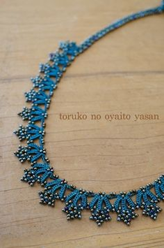 oya crochet necklace | toruko no oyaito yasan