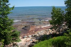 Lake Superior in the UP of Michigan
