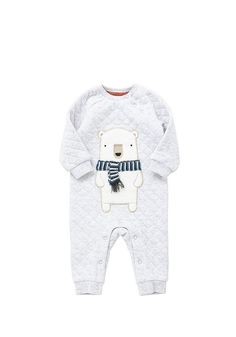 Tesco direct: F&F Polar Bear Quilted All in One