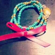 Turquoise + Gold set