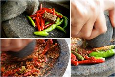 How To Make Sambal Belacan And 9 Other Awesome Malaysian Condiments...No meal is complete without sambal belacan!
