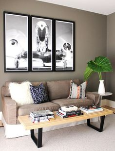 Greenwich, CT Home - contemporary - living room - new york - Roughan Interior Design