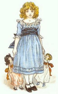 Kate Greenaway: Nostalgic Victorian Illustrations about the Regency Era | Jane Austen's World
